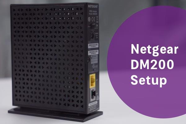 Netgear-DM200Setup