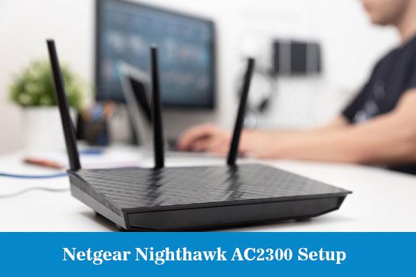 Netgear-Nighthawk-AC2300Setup