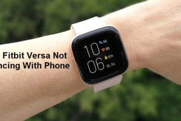 fitbit versa not syncing
