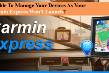Garmin Express Won't Launch