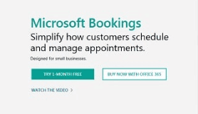 microsoft appointment scheduling