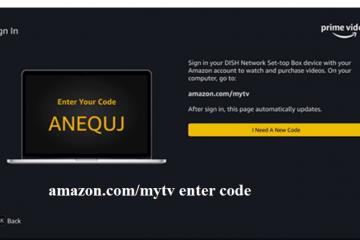amazon.com/mytv enter code