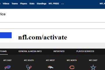 nfl com activate your device
