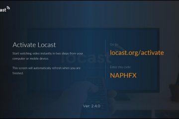 locast org activate